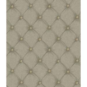 Tufted Fabric Wallpaper BQ3911
