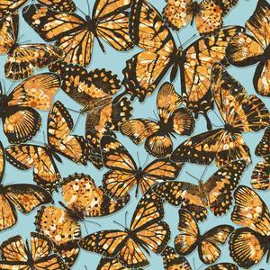 Jeweled Monarch Wallpaper RK4444