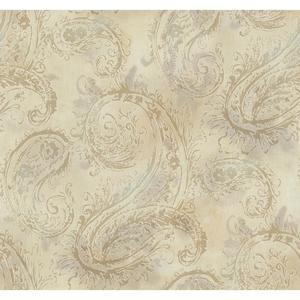 Paisley Wallpaper Y6190102