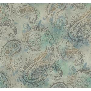 Paisley Wallpaper Y6190105