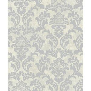 Linen Damask Wallpaper Y6190301