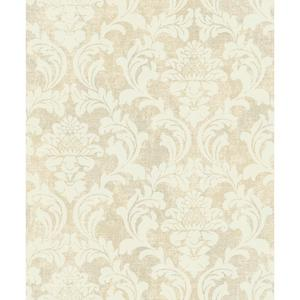 Linen Damask Wallpaper Y6190302