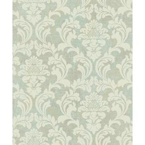 Linen Damask Wallpaper Y6190303