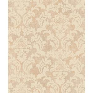 Linen Damask Wallpaper Y6190304
