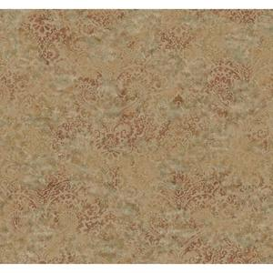 Distressed Damask Wallpaper Y6190405