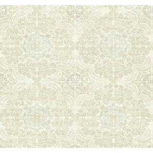 Linen Medallion Wallpaper Y6190701