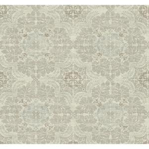 Linen Medallion Wallpaper Y6190703