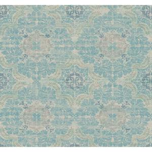 Linen Medallion Wallpaper Y6190705