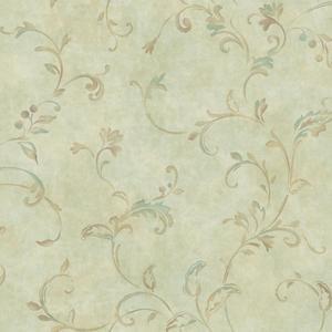 Pendant Scroll Wallpaper Y6190803