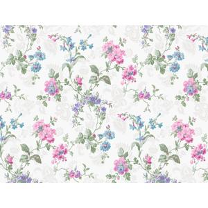 Geranium Multi Floral Wallpaper GD5441
