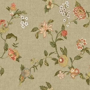 Graceful Garden Trail Wallpaper GC8712
