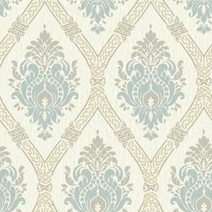 Dressed Up Damask Wallpaper GC8733