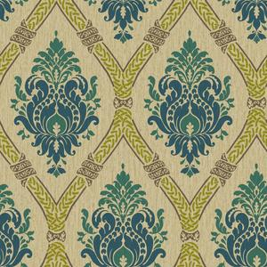 Dressed Up Damask Wallpaper GC8736