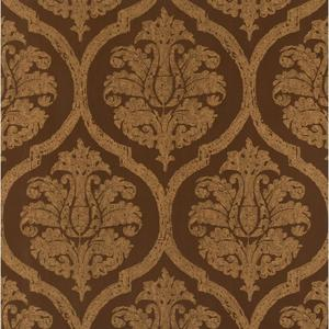 Leather Damask Wallpaper PA130609