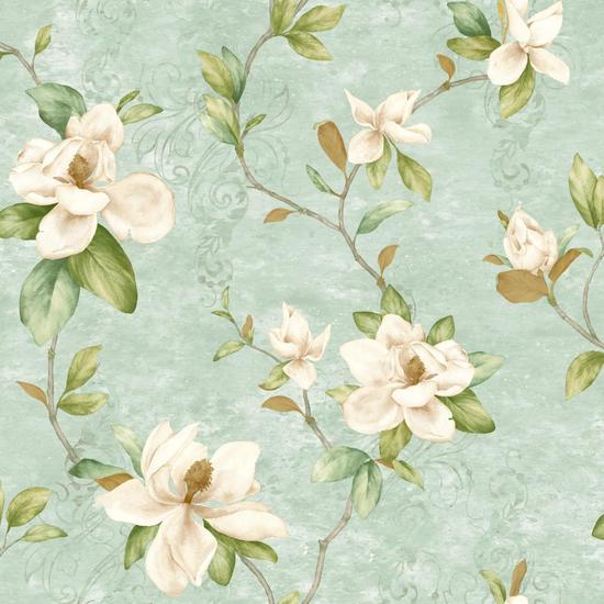 Charlotte Magnolia Trail Wallpaper TB4205