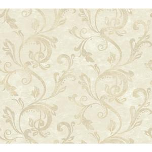 Charlotte Watercolor Scroll Wallpaper TB4280