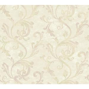 Charlotte Watercolor Scroll Wallpaper TB4281