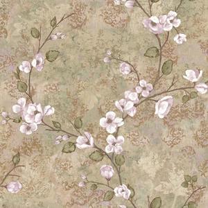 Charlotte Dogwood Wallpaper TB4313