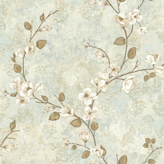 Charlotte Dogwood Wallpaper TB4315