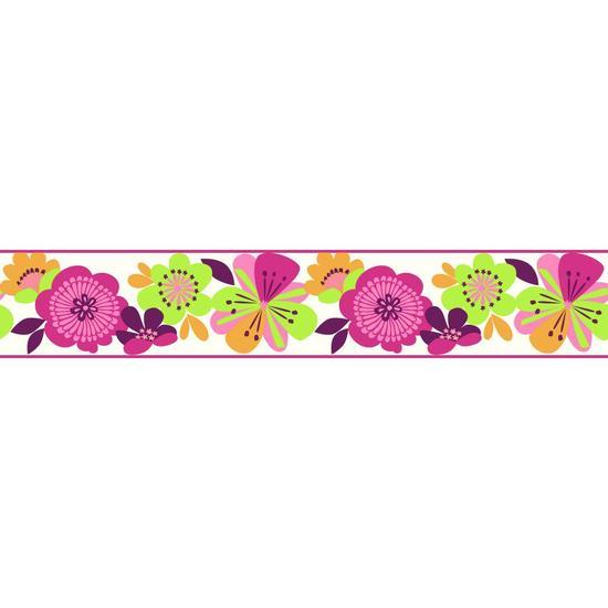 Large Floral Border KS2227B