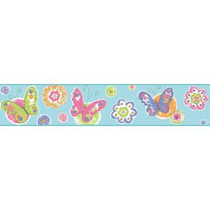 Butterfly Circle Border KS2249BD