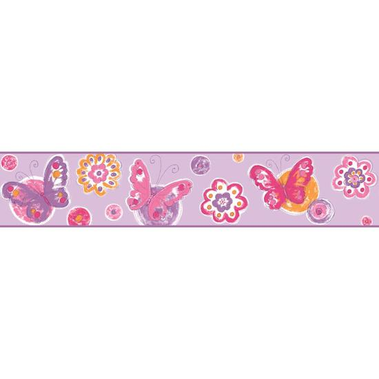 Butterfly Circle Border KS2252BD