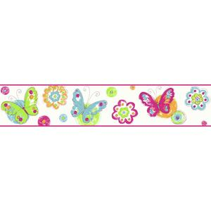 Butterfly Circle Border KS2253BD