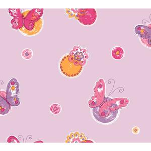 Butterfly Circle Wallpaper KS2259