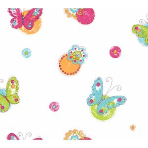Butterfly Circle Wallpaper KS2260