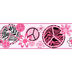 Peace/Zebra Border KS2271B