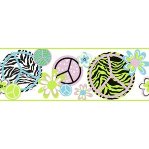 Peace/Zebra Border KS2272B