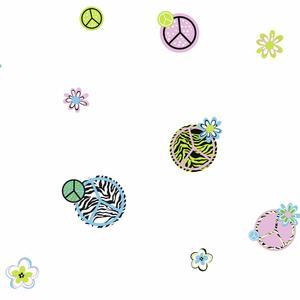 Peace/Zebra Wallpaper KS2279