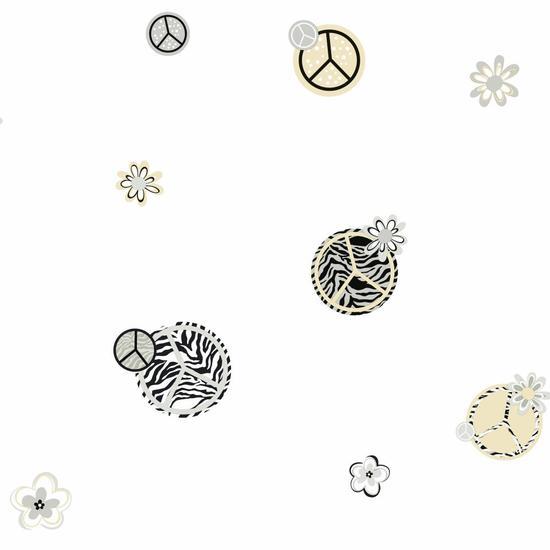 Peace/Zebra Wallpaper KS2281