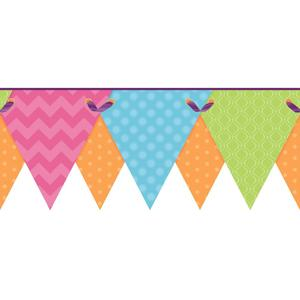 Geometric Pennant Border KS2286BD