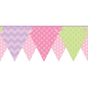 Geometric Pennant Border KS2287BD