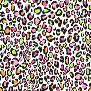 Multi Color Leopard Wallpaper KS2300