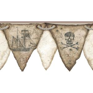 Pirates Pennant Border KS2331BD