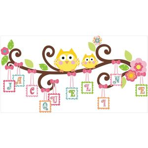 Happi Letter Branch Giant Mural RMK2079GM