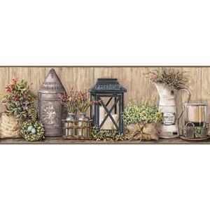 Garden Border Wallpaper AC4358BD