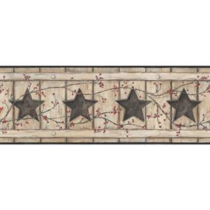 Country Cutout Star Wallpaper AC4412BD