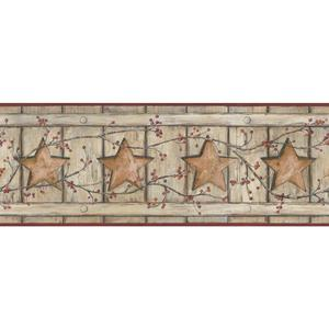 Country Cutout Star Wallpaper AC4413BD