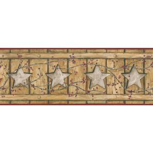 Country Cutout Star Wallpaper AC4414BD