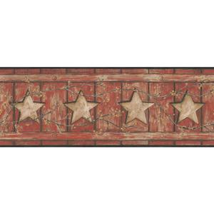 Country Cutout Star Wallpaper AC4415BD