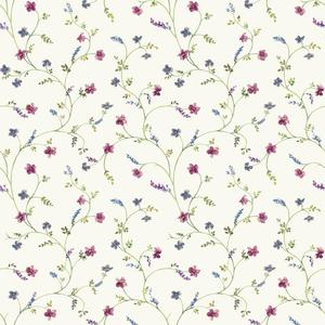 Country Floral Trail Wallpaper AC4425