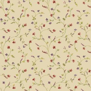 Country Floral Trail Wallpaper AC4427
