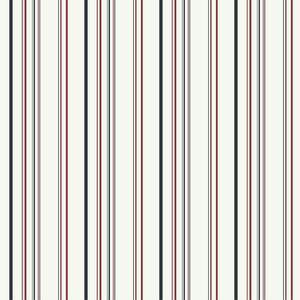 Wide Multi Stripe Wallpaper DK5856