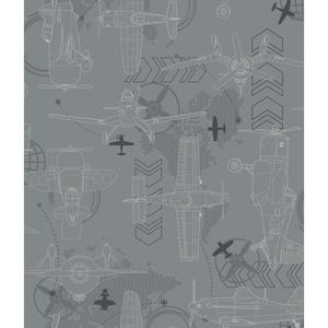 Blueprint Planes Wallpaper DS7740