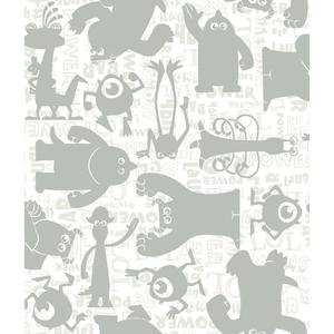 Graphic Monsters Wallpaper DS7752