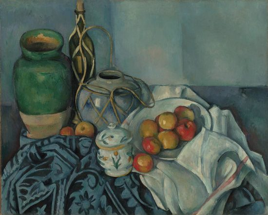 Still Life with Apples, Paul Cézanne