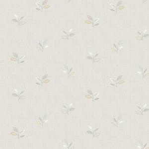 Leigh Grey Leaf Wallpaper
